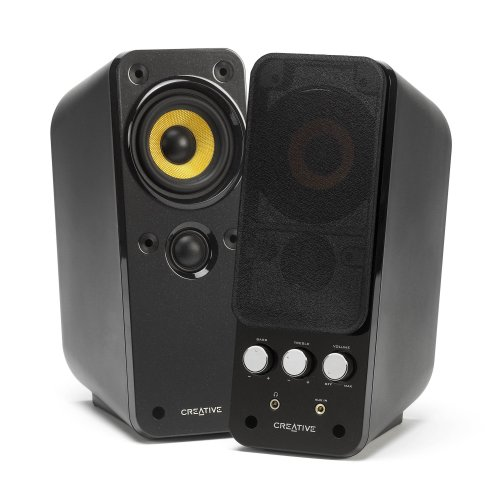 Creative GigaWorks T20 Series II - Enceintes Multimédia PC 14 watts RMS par Canal (2 canaux)