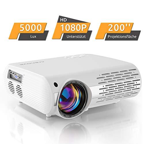 Proiettore Home Cinema 5000 Lux (550 ANSI) XPE660 supporta 1080P Full HD, collegamento con chiavette TV, PS4 Xbox, HDMI,...