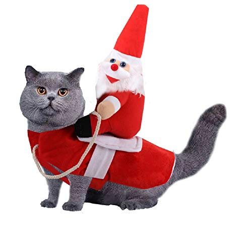 MMSD Christmas Pet Clothes,Cat Christmas Outfit,Pet Clothes...