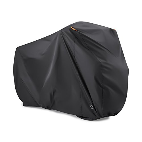 Bike Cover for 2 Bikes, Beeway 190T Nylon Waterproof Bicycle...