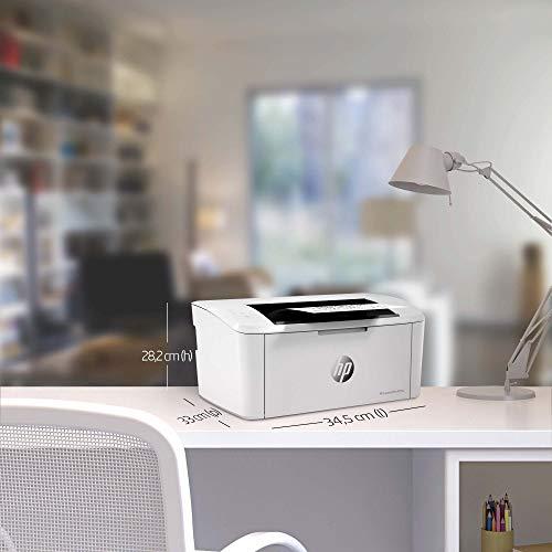Product Image 1: HP LaserJet M15w Stampante Laser Bianco e Nero, Wi-Fi Direct, Tecnologia Risparmio Energetico, Design Moderno e Compatta, Bianco