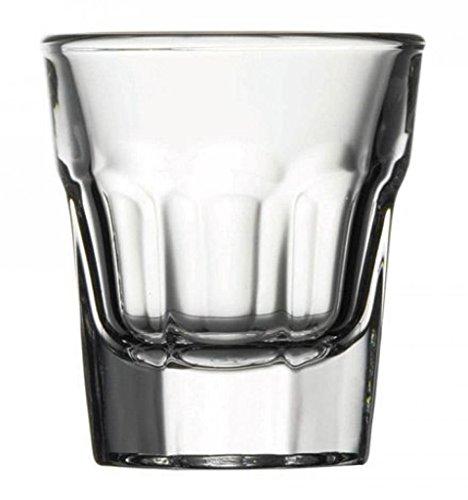 Pasabahce 52734 L Casablanca Bicchieri in Vetro da Liquore, 3.7 cl, 12 unit