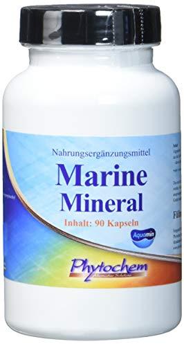 MARINE MINERAL | veganer Mineralstoffkomplex aus der Rotalge zur Unterstützung einer gesunden Mineralisierung des Körpers | 90 Kapseln | Premium Qualität aus Deutschland