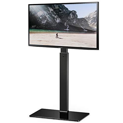 FITUEYES Supporto TV, Mobile TV, Girevole, Regolabile in Altezza, da 32 a 55 pollici LCD LED, Porta...