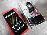 bq C000238Smartphone (16Go de Stockage, Appareil Photo 13Mpx, RAM 2Go, Android 12, 7cm (5Pouces)) Noir/Graphite Gris