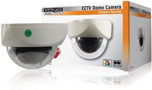Konig SEC-CAM350 Telecamera di Sicurezza per il Controllo e l'Osservazione Discreta