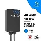Grizzl-E Level 2 EV Charging Station 16/24/32/40 AMP NEMA 14-50 Input Cable 24 feet Output J1772 Cable …