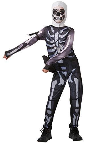 Rubie' s Costume ufficiale Fortnite Skull Trooper, gioco della pelle