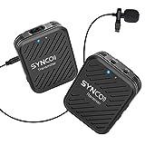 Système de Microphone sans Fil, SYNCO G1 (A1) 2,4 GHz Micro Cravate...
