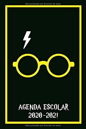 AGENDA ESCOLAR 2020-2021 HARRY: agenda 2020 2021 semana vista   Colegio, secundaria, estudiante   Potter   de septiembre de 2020 a agosto de 2021