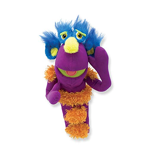Melissa & Doug Make-Your-Own Fuzzy Monster Puppet Kit With...