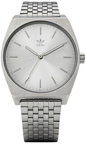 Adidas Herren Analog Quarz Uhr mit Edelstahl Armband Z02-1920-00