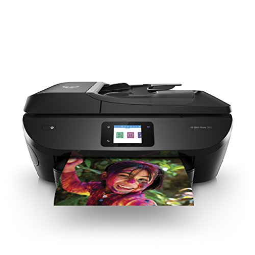 HP ENVY Photo 7855 All in One Photo Printer with Wireless Printing, HP Instant Ink or Amazon Dash replenishment ready (K7R96A)