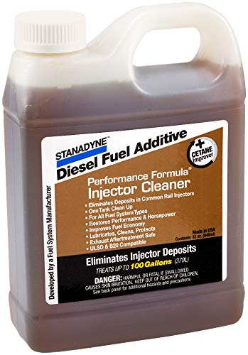 Stanadyne 43566 Performance Formula Injector Cleaner, 32 oz
