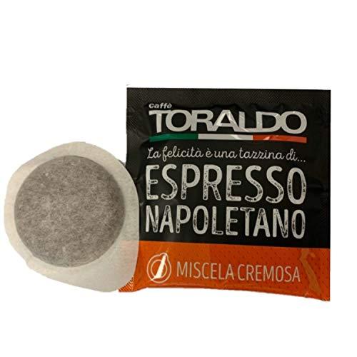 Caffè TORALDO 150 CIALDE ESE 44 MISCELA CREMOSA ESPRESSO NAPOLETANO