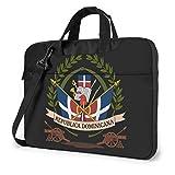Republica Dominicana Flag Laptop Laptop Shoulder Bag Laptop Sleeve Business Maletín