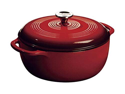 6 Quart Enameled Cast Iron Dutch Oven