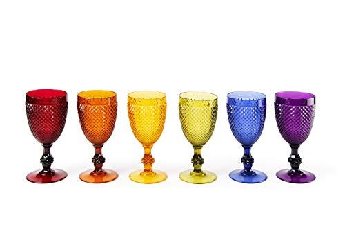 Brunch Time Set Copa Para Vino Tinto 6 Uds. Diamond