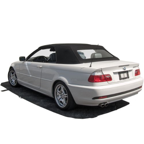 Sierra Auto Tops BMW 2000-2006 3 Series (E46) Convertible Top, TwillFast RPC Canvas, Black