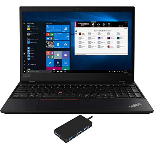 "Lenovo ThinkPad P53s Laptop (Intel i7-8565U 4-Core, 16GB RAM, 512GB PCIe SSD, Quadro P520, 15.6"" Full HD (1920x1080), Fingerprint, WiFi, Bluetooth, Webcam, Win 10 Pro) with USB3.0 Hub"