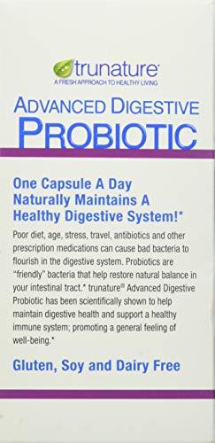 TruNature Advanced Digestive Probiotic (100 Capsules), 100Count 2