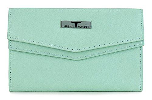 URBAN FOREST Mint Leather Women's Wallet (UBF111MIN5005)
