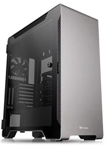 Thermaltake A500 Aluminum Tempered Glass ATX Mid Tower Gaming Computer Case with 3 Fans Pre-Installed CA-1L3-00M9WN-00