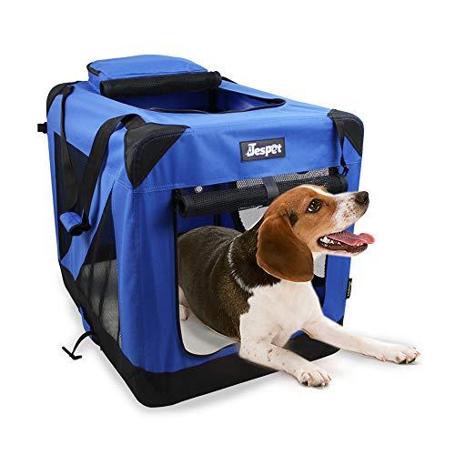 JESPET 30' Deluxe Blue Indoor/Outdoor Soft Dog...