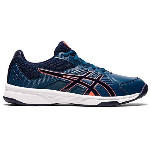 ASICS Men's Court Slide Mako Blue/Peacoat Leather Tennis Shoes-8 UK (42.5 EU) (9 US) (1041A037)