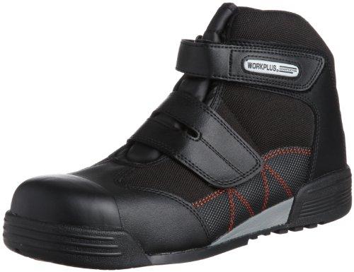 [ミドリ安全] 安全作業靴 JSAA認定 建設業向け マジックタイプ プロスニーカー MPC525 メンズ ブラック 23.5