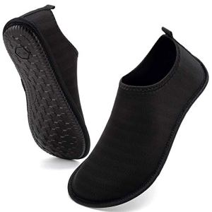 VIFUUR Womens Mens Water Shoes Athletic Aqua Shoes Slip-on for Outdoor Beach Swim Yoga