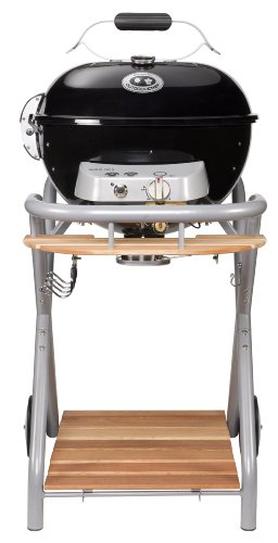 Outdoorchef Gasgrill Ambri 480 G – Kugelgrill mit Trichtersystem und Fettauffangbehälter – Gas grill für Balkon und Terrasse – Steak Grill Ø 48 cm mit 5.4 kW