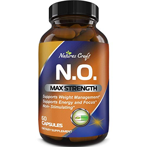 Nitric Oxide Booster Complex with L-Arginine L-Citrulline – Amplifier for Increased Endurance – Powerful Antioxidant – Weight Loss Support Vitamin for Men Women Teens 2
