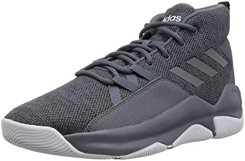 adidas Men's Streetfire Basketball Shoe, Onix/Onix/Black, 11 M US