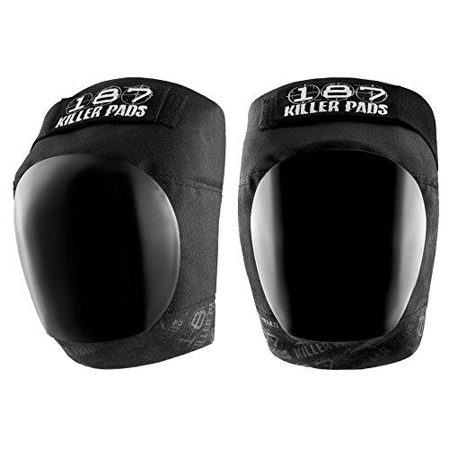 187 Killer Pro Knee Pads, X-Large, Black / Black