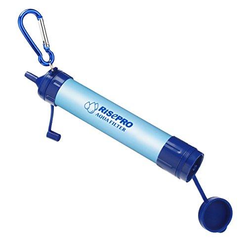 Filtro de agua de emergencia, de Risepro®, para camping, senderismo,...
