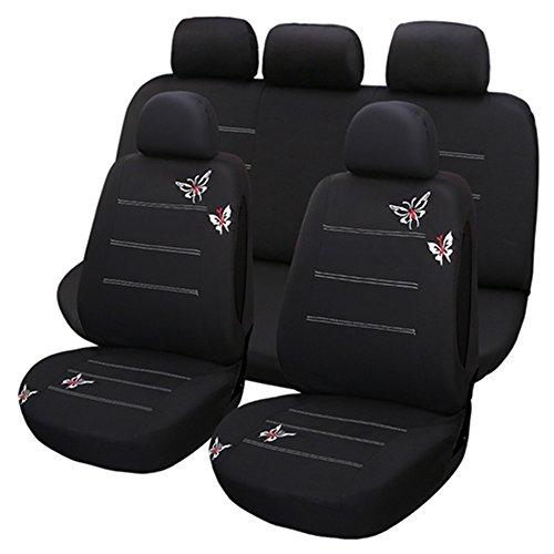 Set Completo di Coprisedili per Auto Macchina Seat Cover Universali Protezione per Sedile di...