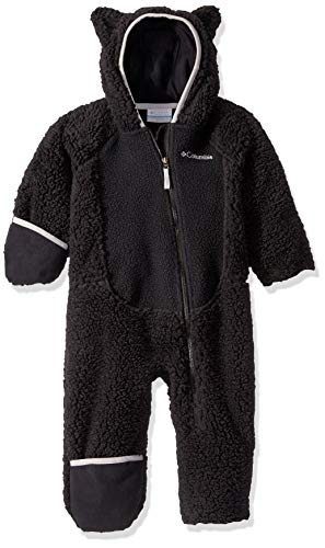Columbia Foxy BabySherpa Bunting, Black/Slate Grey, 3/6
