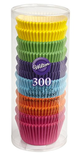 Wilton Rainbow Bright Standard Cupcake Liners