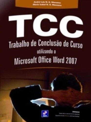 Trabalho de Conclusão de Curso Utilizando o Microsoft Office Word 2008