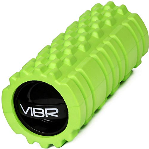 Vibrating Foam Roller for Muscle Recovery Deep Tissue Trigger Point Massage with 3 Speed Intensity for Sore Muscles, Joint, Back Pain Relief   Portable Self Massage by Emerge Fitness