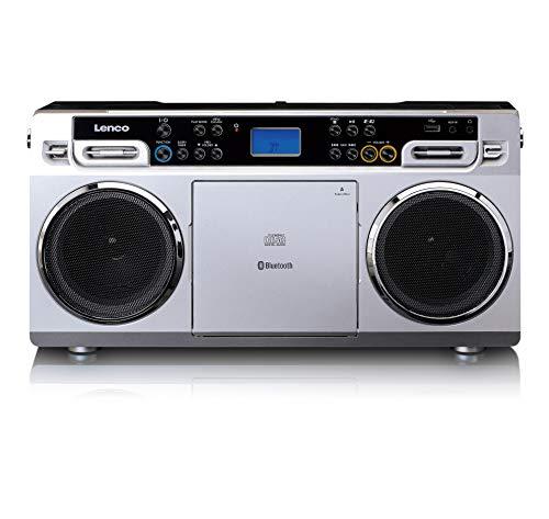 Lenco SCD-580 Ghettoblaster - Tragbarer CD-Player - PLL...
