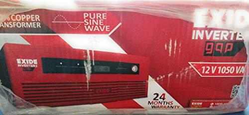 Exide Technologies 1050VA Pure Sinewave Home UPS Inverter with Digital Display (Multicolour)