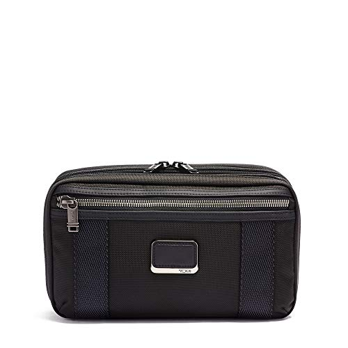 TUMI - Alpha Bravo Reno Travel Kit With Expansion - Hanging Toiletry Bag for Men and Women - Black