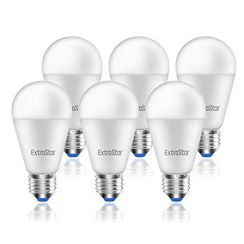 Lampadina LED E27, 15W (equivalenti a 120W), 3000K 1200 lumen,luce bianca calda - Pacco da 6