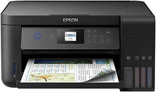 Epson EcoTank ET-2750 Stampante Inkjet 3-in-1, Stampa Fronte/Retro, Copia e Scansione, Connettivit Wi-Fi e App, LCD da 3.7 cm, Colore Nero