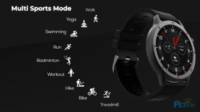 Amazon.in: Buy AQFIT W15 Fitness Smartwatch Activity Tracker| Waterproof |  4.2 Bluetooth | Metal Case | Full Touch Screen Display | for Men and  Women(Black) Online at Low Prices in India |