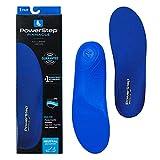 Powerstep Pinnacle Orthotic Shoe Insole, Blue, Men's 14-15