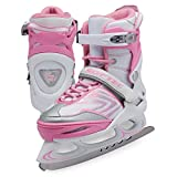 Jackson Ultima Women's/Misses/Tot's XP1000 Softec Vibe Adjustable Figure Ice Skates, Pink, Medium (Misses 2-Women's 6)