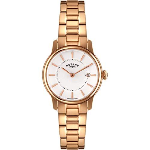 Rotary Damen - Armbanduhr Locarno Analog Quarz LB02774/02